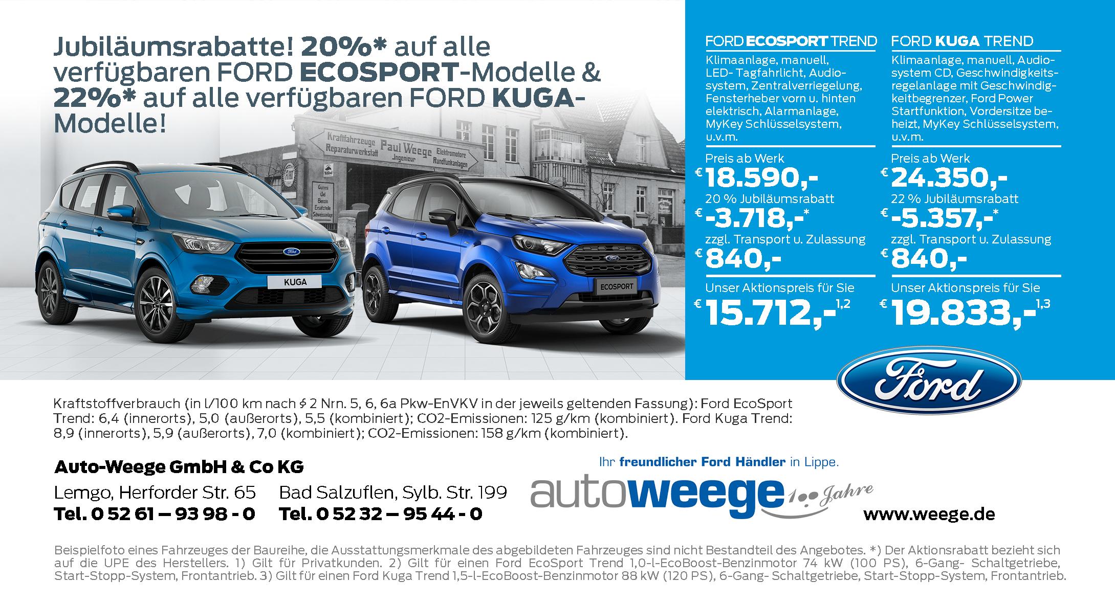 Autohaus Weege Ford Kuga